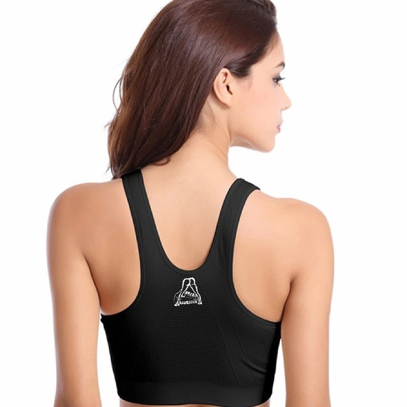 c71887f98d7 Women Zipper Push Up Sports Bra Running Yoga